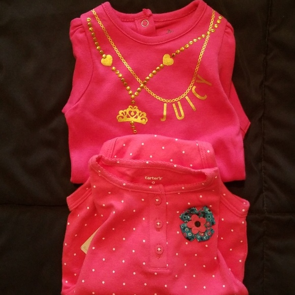 9a0c7c75ae2a Juicy couture and Carter s One Pieces